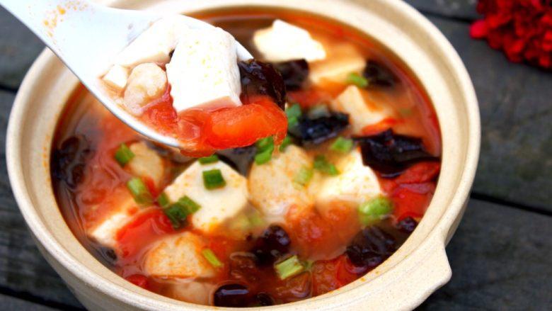吃豆腐+番茄鱼丸豆腐汤,13.给你盛上一碗!