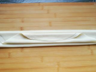 石蛤蟆水饺(博山水饺的包法),折好的样子。