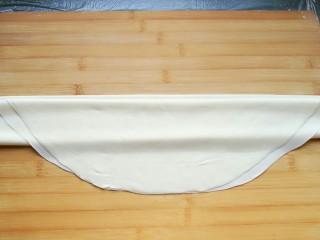 石蛤蟆水饺(博山水饺的包法),再折下来。