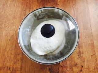 #咸味# 西葫芦羊肉水饺,和面 把面和到面团表面光滑,静置20分钟左右。