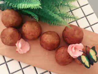 #甜味#糯米南瓜球,糯糯的,南瓜和紫薯都是非常有营养的,多吃一些对身体好