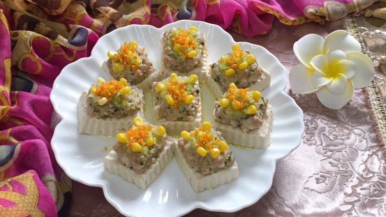 吃豆腐~肉末蒸豆腐