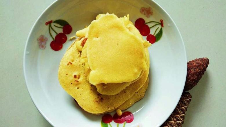 牛奶雞蛋玉米餅