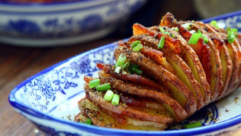 培根风琴烤土豆#辣味#
