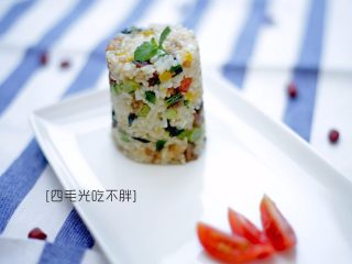 虾干炒饭(儿童营养餐)