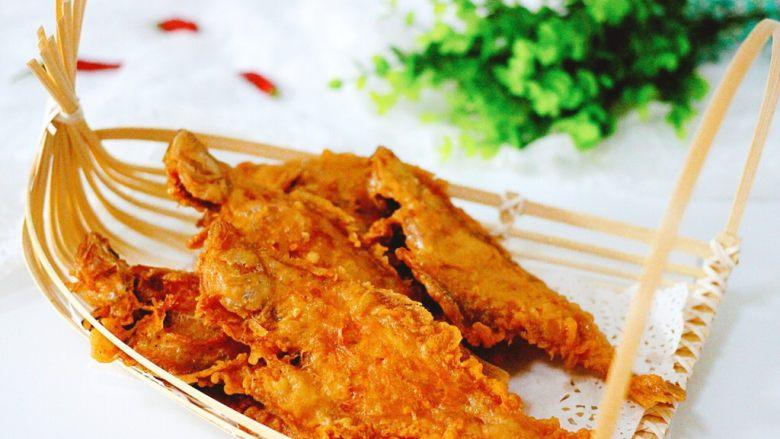 #咸味#酥炸片口鱼