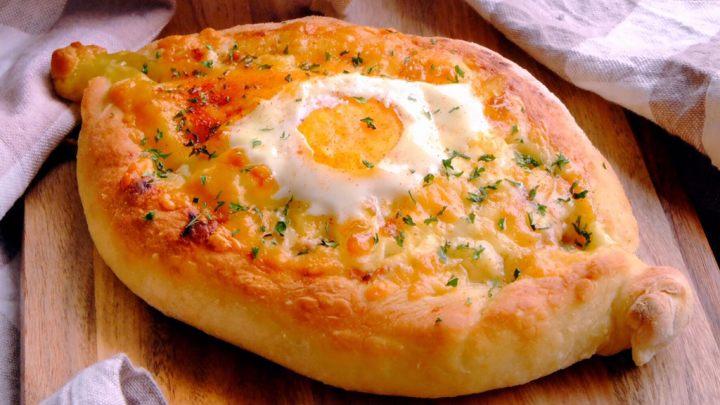 #咸食#土耳其芝心边披萨 (无需机器揉面)