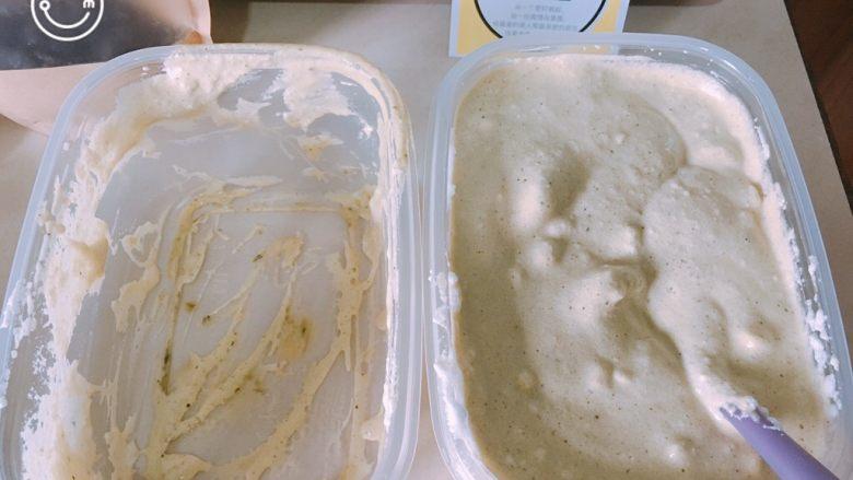 威风蛋糕(可定制口味),然后再合二为一,搅拌均匀到一个盒子里
