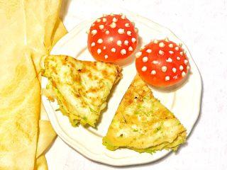 趣萌番茄蘑菇蔬菜饼,童趣十足吧,看看也美美哒