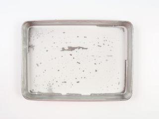 自制鸡蛋青菜肠粉,加入两勺粉浆,大概50克。