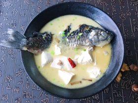 濃湯鯽魚燉豆腐
