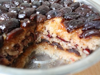 甑糕,切面非常漂亮。