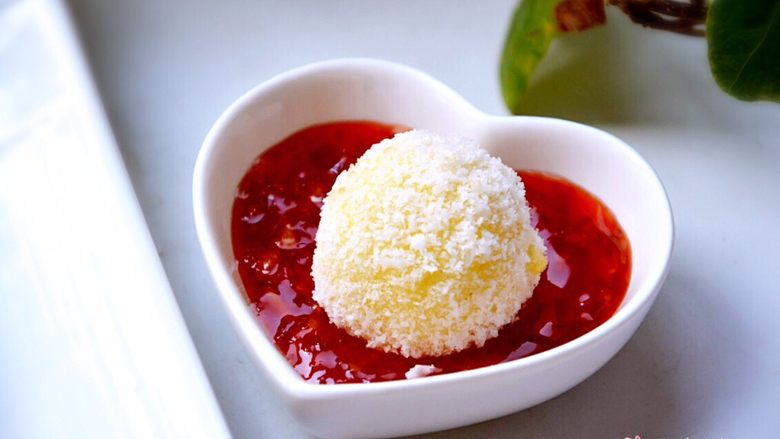 椰蓉芝士土豆球,加泰式甜面酱很好吃