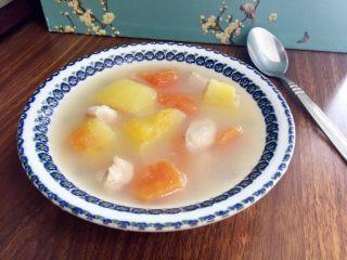 木瓜瘦肉鱼汤