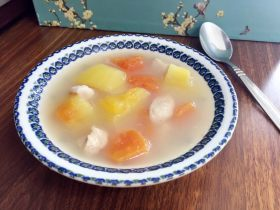 木瓜瘦肉魚湯