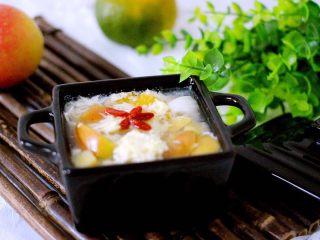 一碗汤+苹果百合酒酿蛋花羹