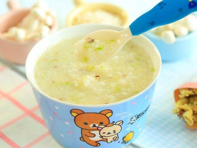 菌菇双米粥