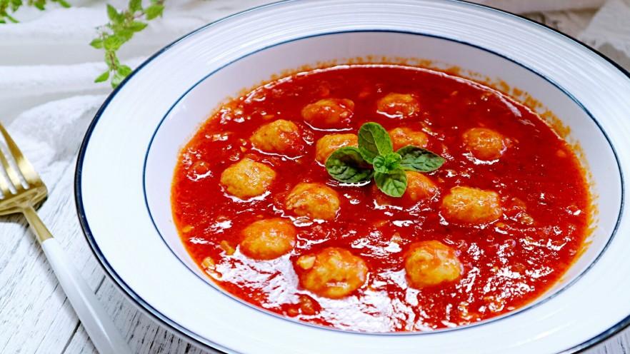一碗汤+番茄鸡丸浓汤