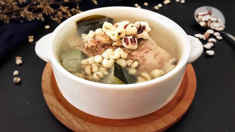 一碗汤#冬瓜芡实薏米海带老鸭汤