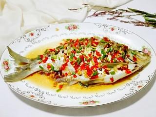 红红火火~清蒸鳊鱼,换个大盘子是不是很漂亮!