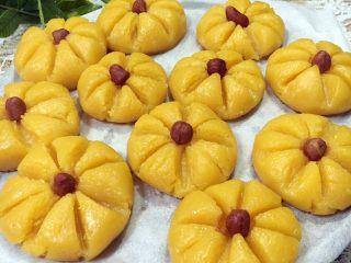 红薯糯米蒸饼,出锅