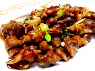 鲜炒小海螺