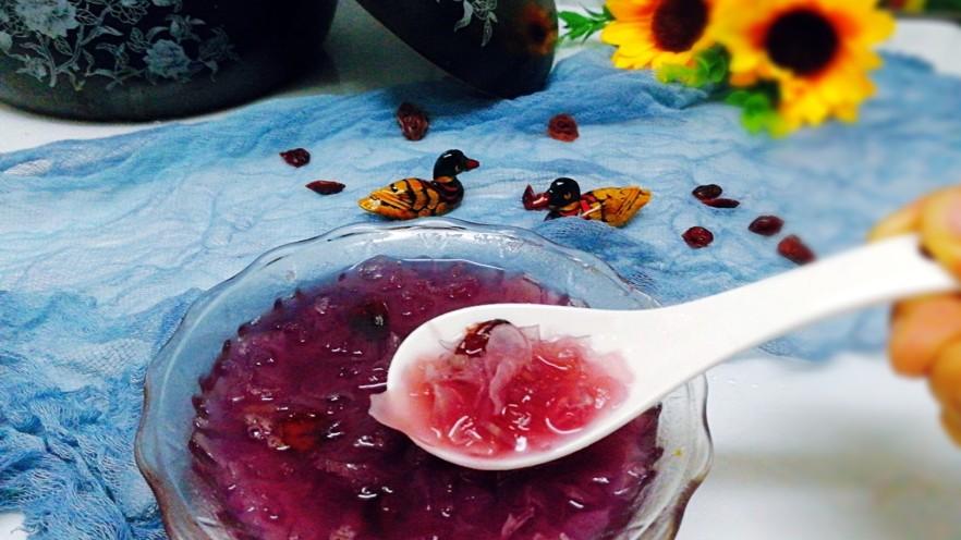 早餐+养生紫薯银耳羹