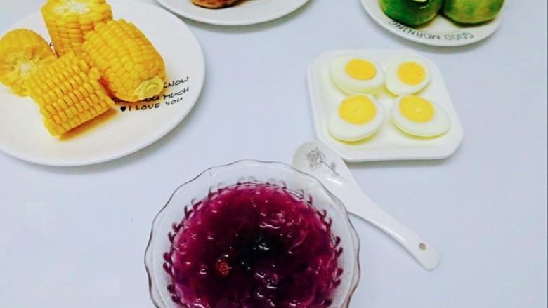 早餐+养生紫薯银耳羹,当早餐杠杠的
