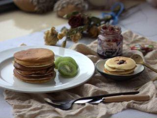 早餐+無泡打粉版松餅