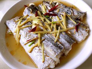 超级鲜美清蒸带鱼(0厨艺),看看,是不是鱼肉细嫩,汤汁鲜美呢