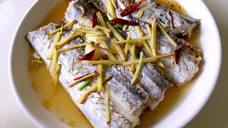 超级鲜美清蒸带鱼(0厨艺)