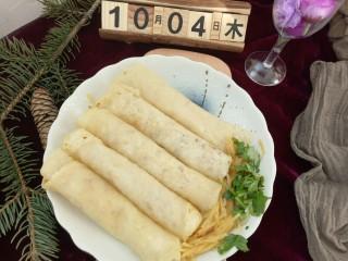 早餐+春饼卷土豆丝