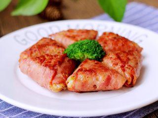 培根包饭—小小炒饭的另一种高大上吃法,成品。