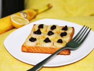 幸福早餐烤香蕉土司