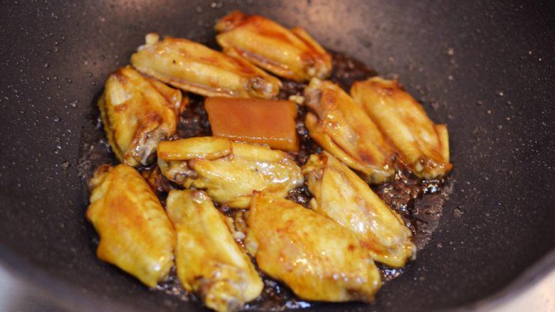 柠檬鸡翅,翻炒均匀。
