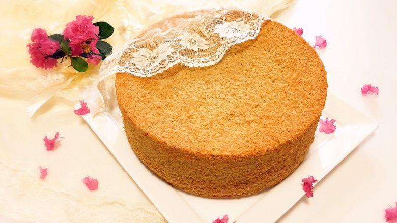 无水海绵蛋糕