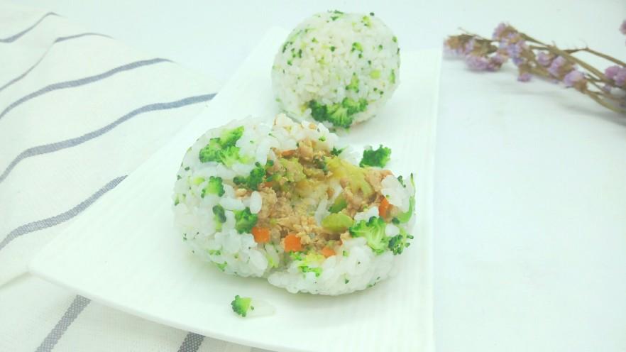 绿色美食+营养饭团