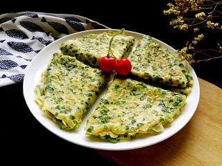 #绿色美食#韭菜鸡蛋饼,鸡蛋和韭菜就是绝配。