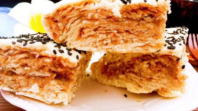 早餐麻酱核桃层层蒸糕