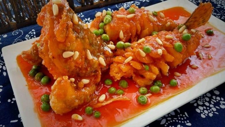 鸿运松鼠桂鱼