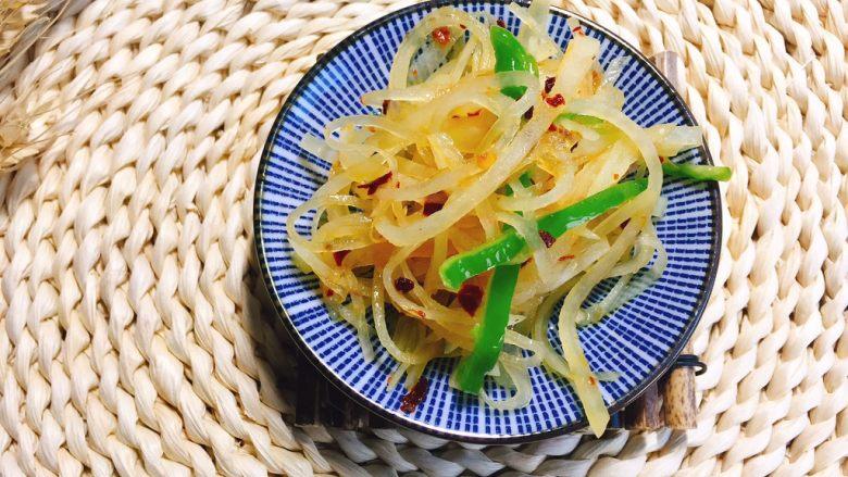 #绿色美食#炝拌香辣土豆丝
