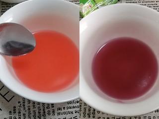 Q糖牛奶布丁,每种口味的q糖都是这样的制作步骤。