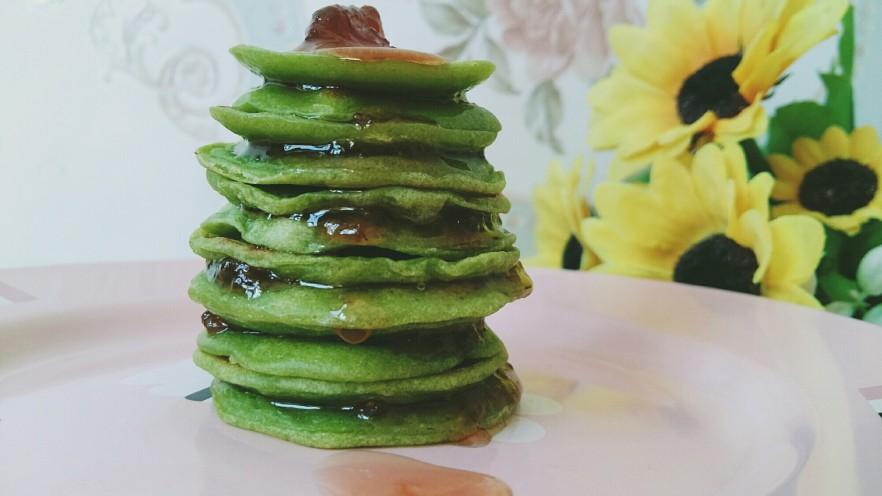 #绿色美食#草莓酱夹心软饼