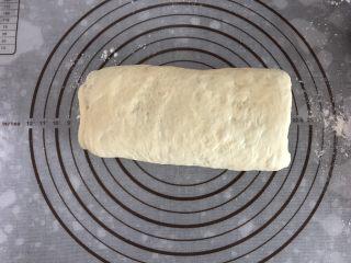 大理石纹吐司,再对折,翻转90度