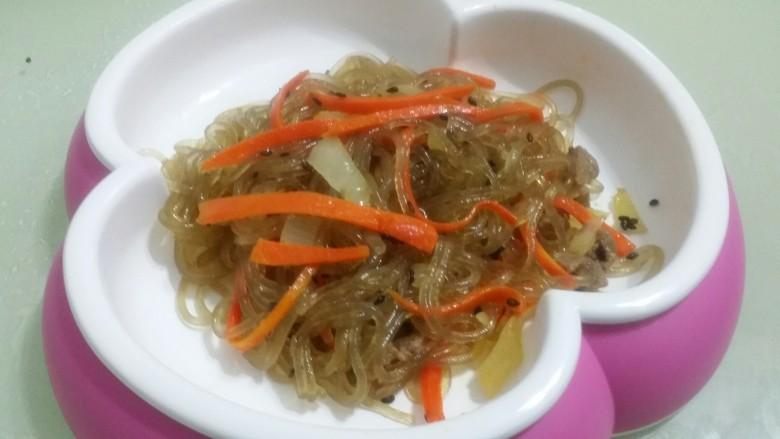 辅食:拌地瓜粉