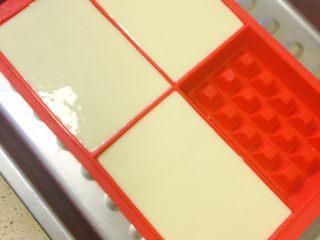 40分钟小白版华夫饼,把蛋液倒入模具