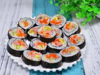 鱼籽紫菜包饭