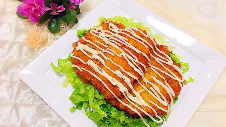 美味的日式炸猪排