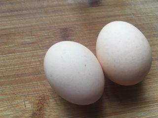 花样蛋包饭,鸡蛋两个