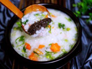 剩米饭也有春天(海鲜杂蔬粥),诱惑到你没有